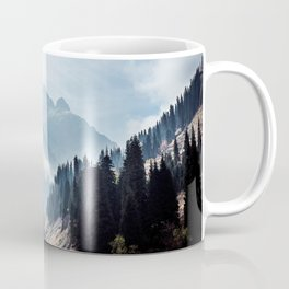 VALLEY - MOUNTAINS - TREES - RIVER - PHOTOGRAPHY - LANDSCAPE Coffee Mug