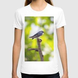 Little Blue Tree Swallow T-shirt