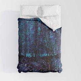 Van Gogh Trees & Underwood Indigo Turquoise Comforters