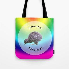 Save the kiwis Tote Bag