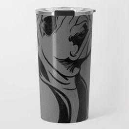 Prim Pug Travel Mug