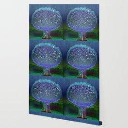 Stellar Tree Town Wallpaper