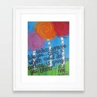 dr seuss Framed Art Prints featuring dr. seuss  by skye