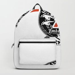 Hester Prynne's Grade A Embroidery Backpack