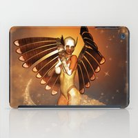 angel iPad Cases featuring Angel by nicky2342