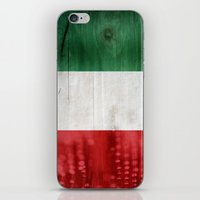 italy iPhone & iPod Skins featuring Italy by Arken25