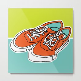 Favorite Shoes Metal Print