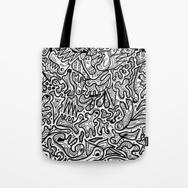 Abstract HandMade Tote Bag