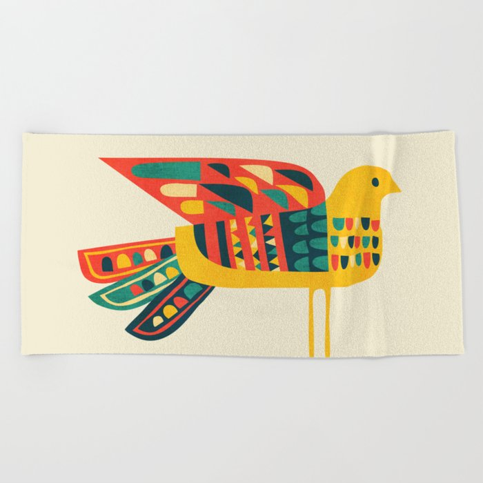 Century Bird Beach Towel