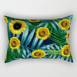 Sunflower Party #2 Rectangular Pillow