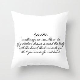 caim Throw Pillow