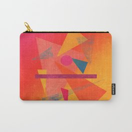 Autumn Abstract Design Carry-All Pouch