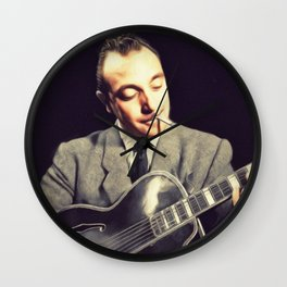 Django Renhardt, Music Legend Wall Clock