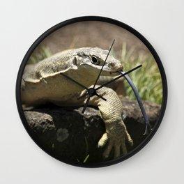Lace Monitor - Goanna Wall Clock