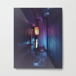 Tokyo Nights / Lonely Lantern / Liam Wong Metal Print