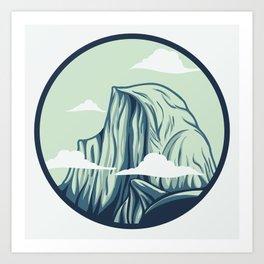 Half Dome Art Print