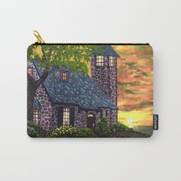 Essex House Lighthouse by Ave Hurley  Carry-All Pouch