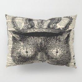 dictionary print steampunk gear halloween spooky black cat Pillow Sham