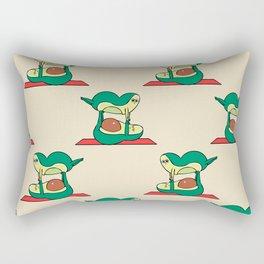 Acroyoga Avocado Rectangular Pillow