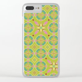 Roseline II 5 Clear iPhone Case