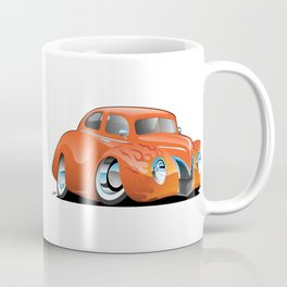 Custom Street Rod Vintage Car Hotrod Cartoon Coffee Mug