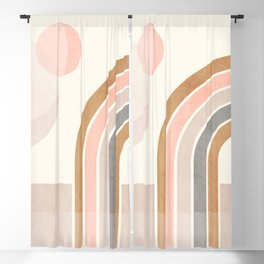 Geometric Abstract 89 Blackout Curtain