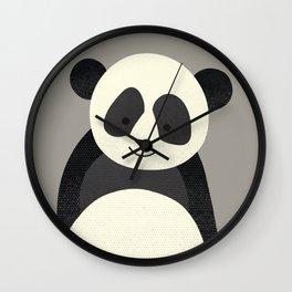 Whimsy Giant Panda Wall Clock