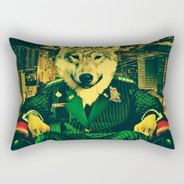 WOLF II Rectangular Pillow