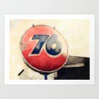 76 Memories Art Print