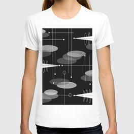 Atomic Space Age Black T-shirt