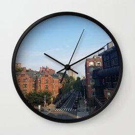city_3 Wall Clock