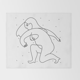 Constelated Throw Blanket