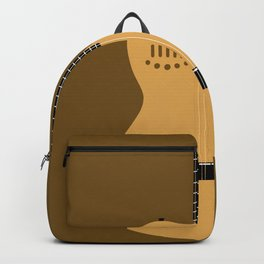 Acoustic Guitar Illustration Backpack