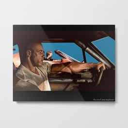 fast and the furious Metal Print