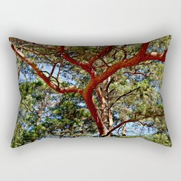 Autumnal lure of the forest Rectangular Pillow