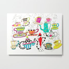 Coffee or Tea? Metal Print
