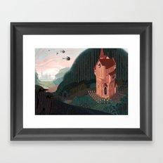 The Sisters' Garden Framed Art Print