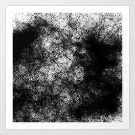 Artificial Constellation Dark Matter Art Print