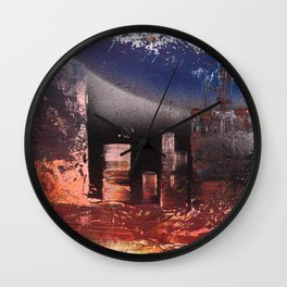 Small Space 17 Wall Clock