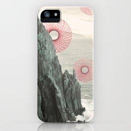 Spirograph Neahkahnie Headland Spires iPhone Case