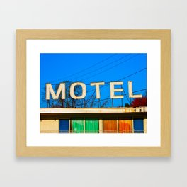 Breezewood Motel Framed Art Print