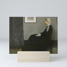 Whistler's Mother Mini Art Print
