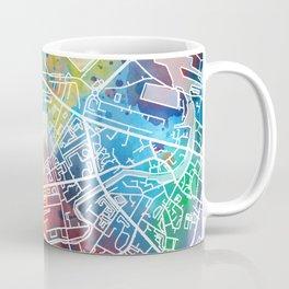 edinburgh map watercolor Coffee Mug