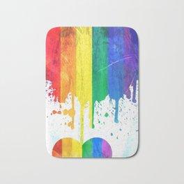 Pride Popart by Nico Bielow Bath Mat