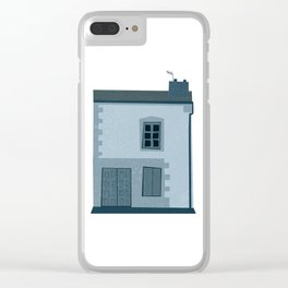 La maison et l'oiseau Clear iPhone Case