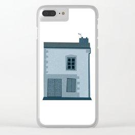 La maison et l'oiseau Clear iPhone Case