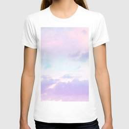 Unicorn Pastel Clouds #1 #decor #art #society6 T-shirt