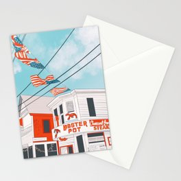 An Afternoon in Provincetown Stationery Cards