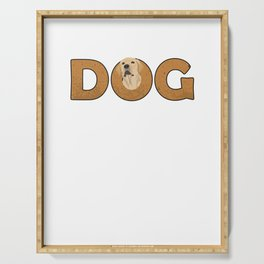 Dogs Groomer Dog Owners Doggie Puppy Puppies Animal Lovers Animal Rights Gift Serving Tray