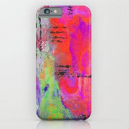 Mixed Media Abstract 2 iPhone Case
